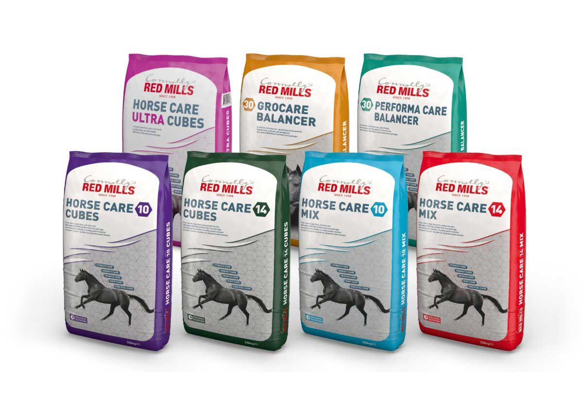 The RED MILLS Care Range