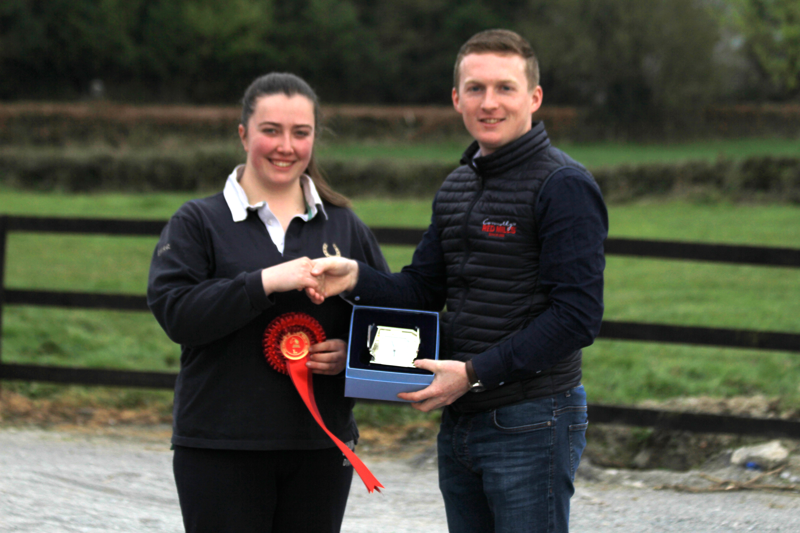 One eyed wonder claims the Connolly's RED MILLS Advanced Intermediate title