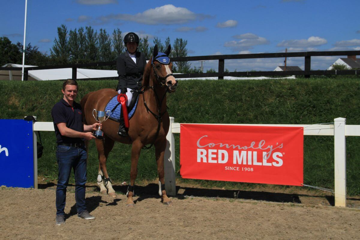 Finnegan recovers from injury to win Connolly's RED MILLS Show Jumping Championship title