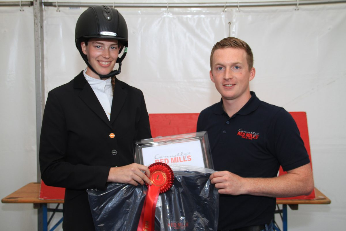 Cork rider impresses to win Connolly's RED MILLS Intermediate Dressage title
