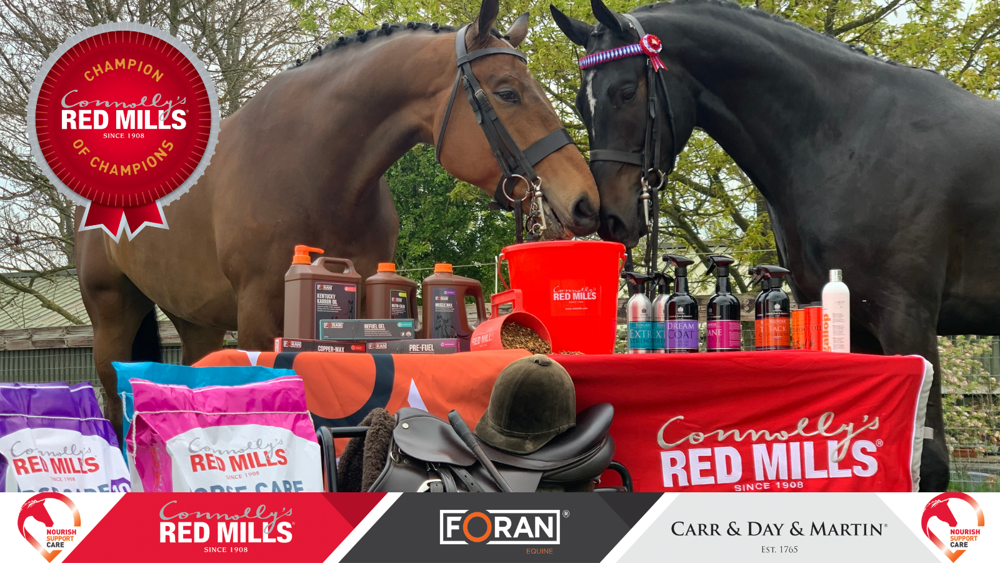 Showing Ireland launch 2021 RED MILLS Champion of Champions