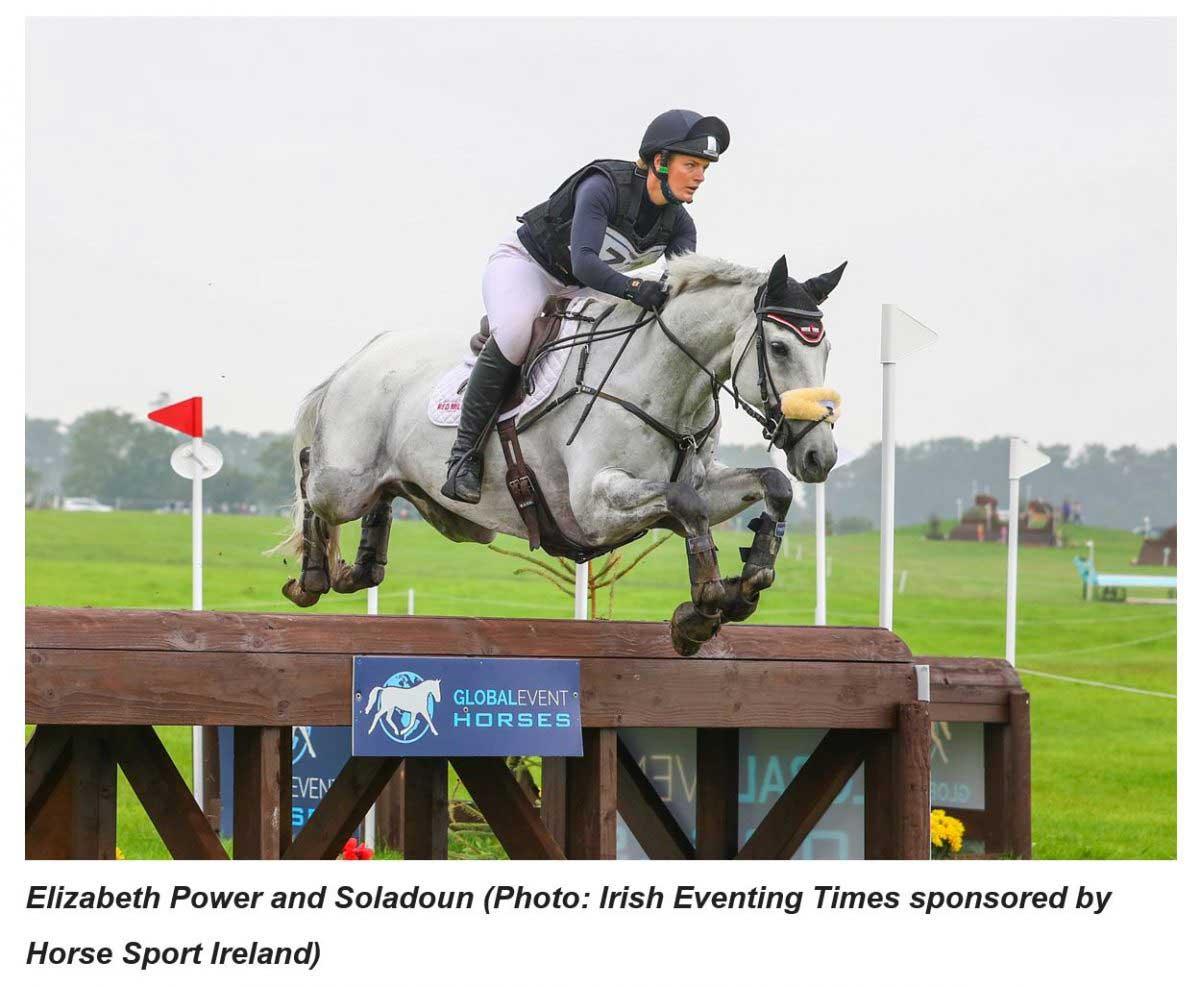 RED MILLS Rider Elizabeth Power wins big at Kilguilkey Home International