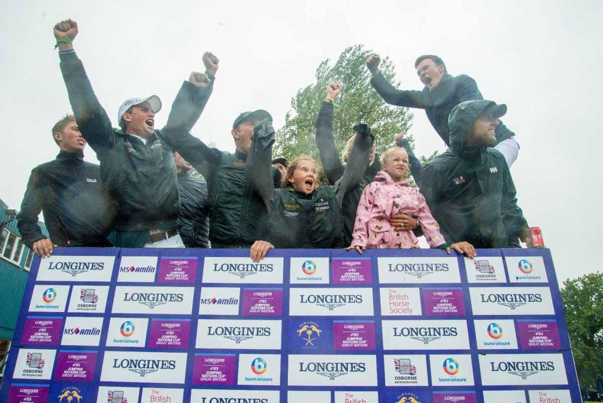 Hickstead high for Team Ireland