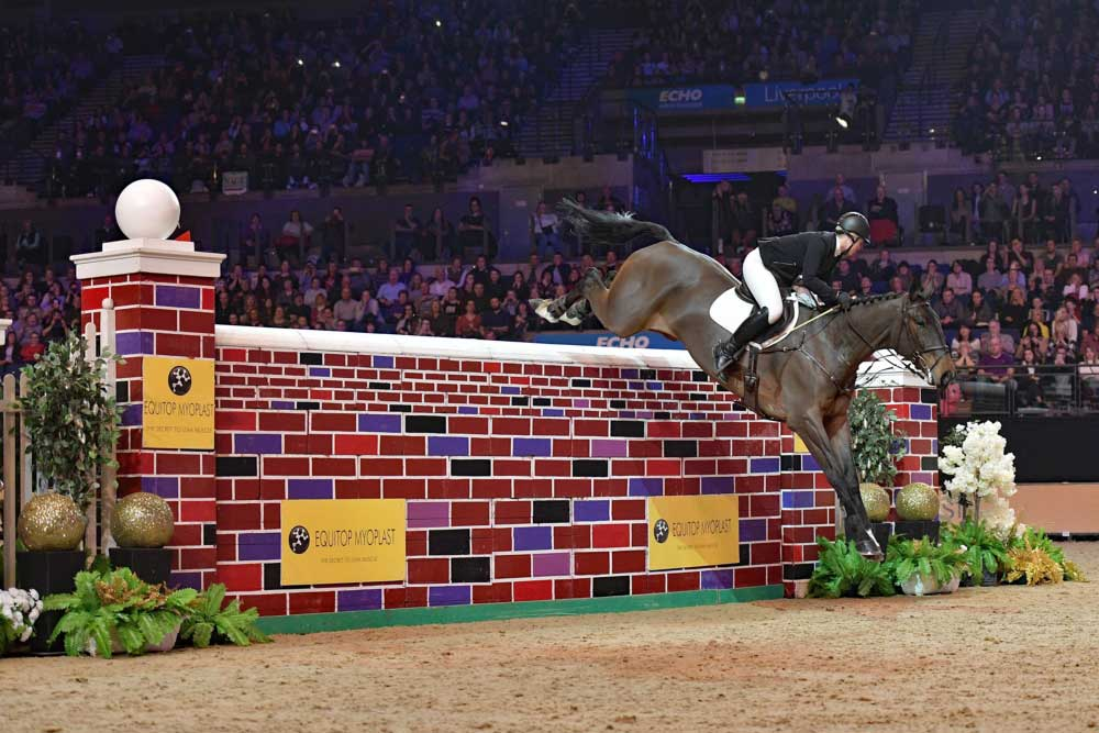 RED MILLS riders take the Liverpool limelight