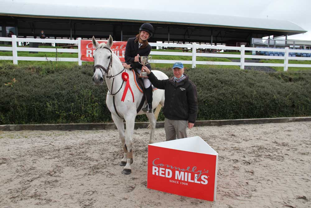 Dargan emulates fathers achievement at the Red Mills Show Jumping Championships