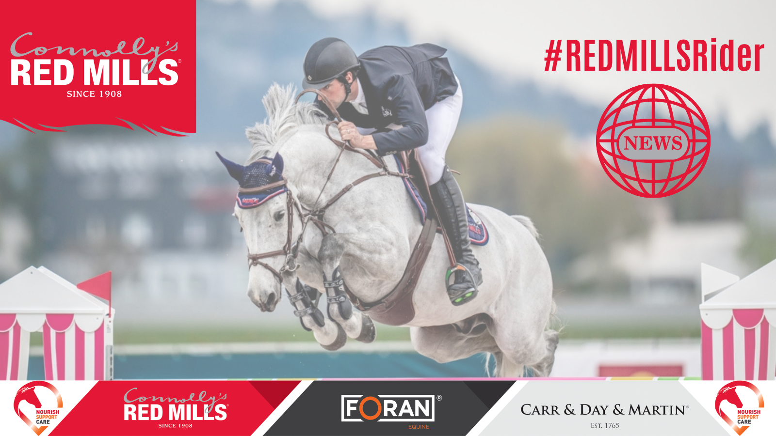 RED MILLS Riders on Fire!