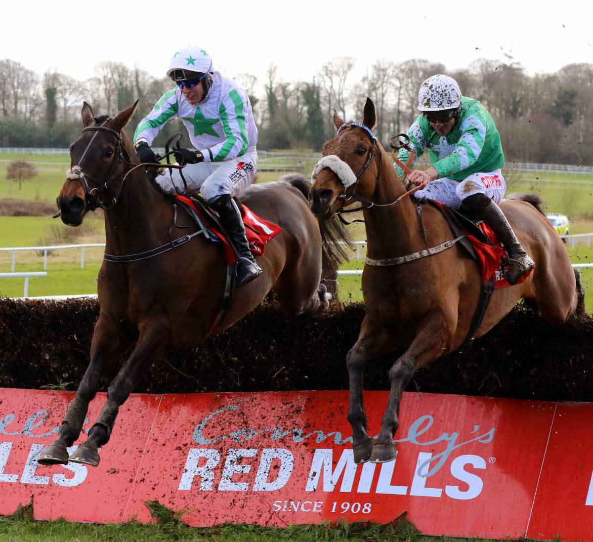 Percy on track for red hot RED MILLS