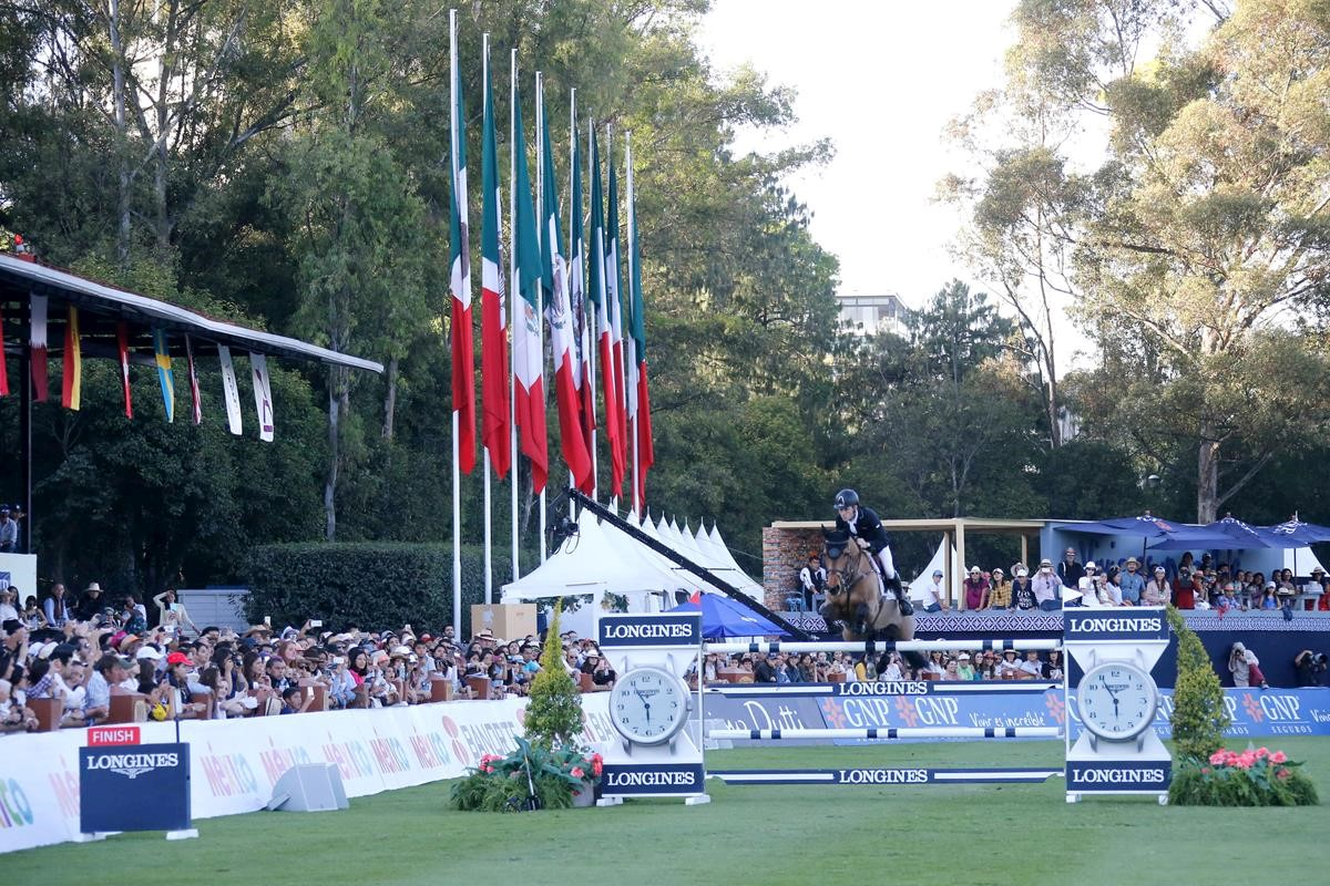 RED MILLS and Foran Equine Ambassador Scott Brash and Superstar Ursula XII in Phenomenal LGCT of Mexico City Win