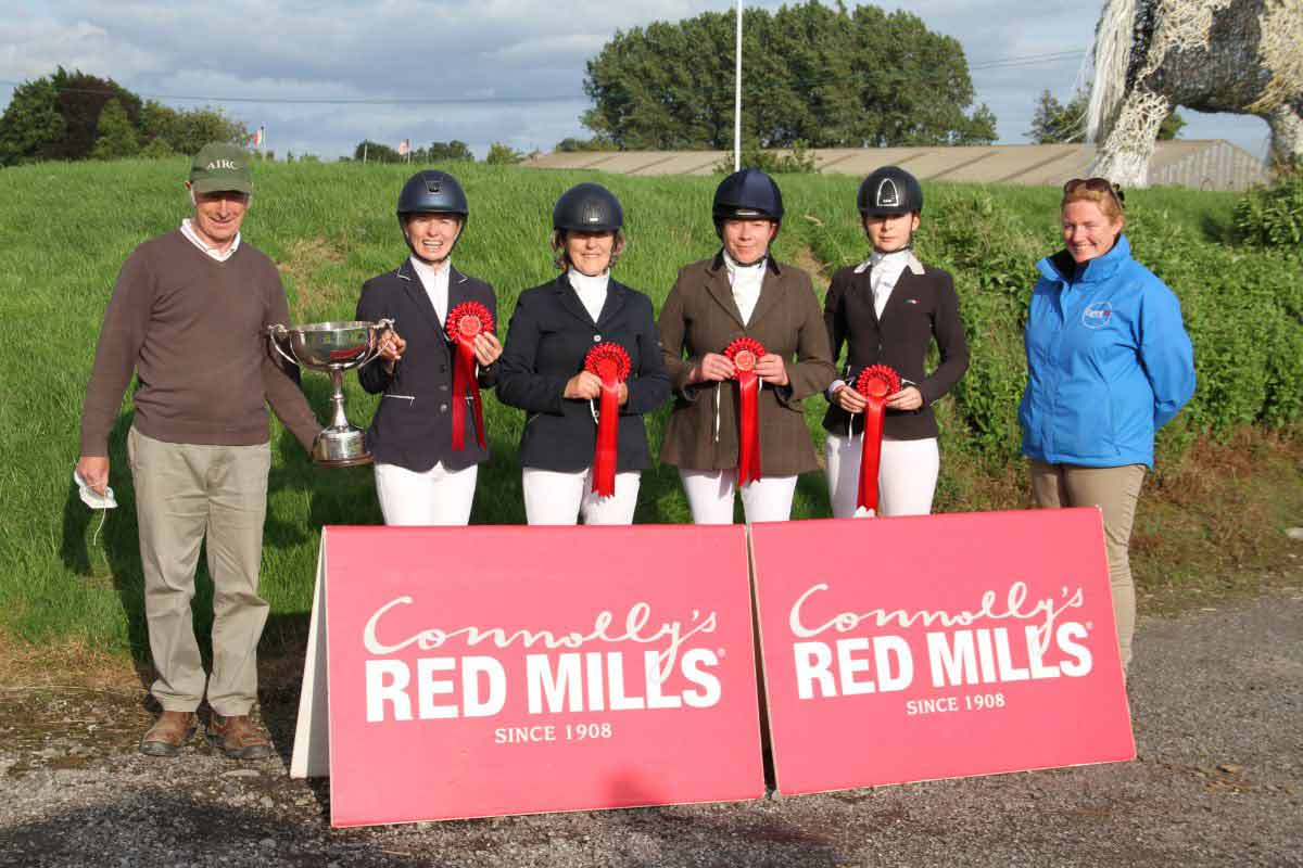 Historic win for Waterford club in Connolly's RED MILLS Team dressage championship