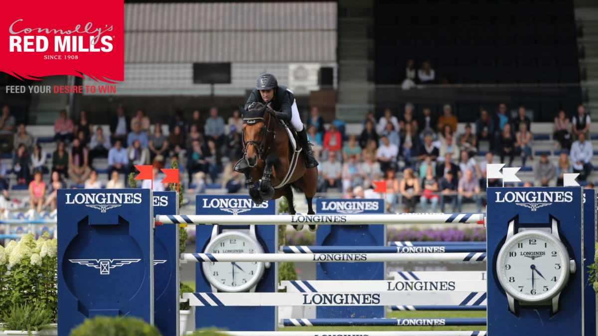Saïd sizzles in sensational win in Tops International Arena CSI4* Grand Prix
