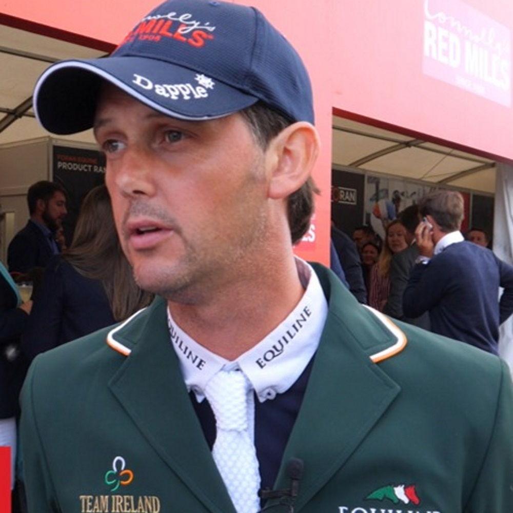 Billy Twomey makes winning start in Stuttgart with  Ardcolum Duke