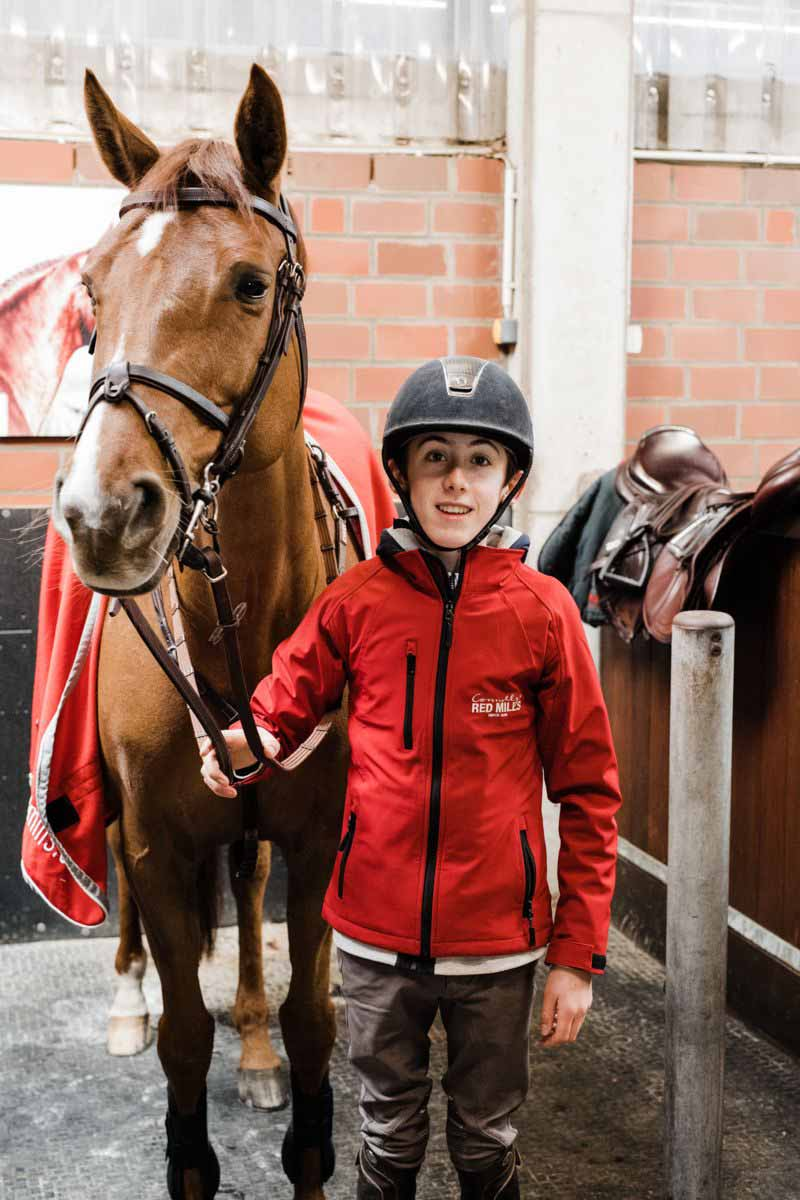 Harry Allen joins forces with Connolly's RED MILLS & Foran Equine