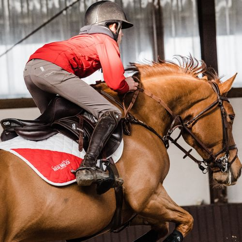 RED MILLS Riders on top form last weekend