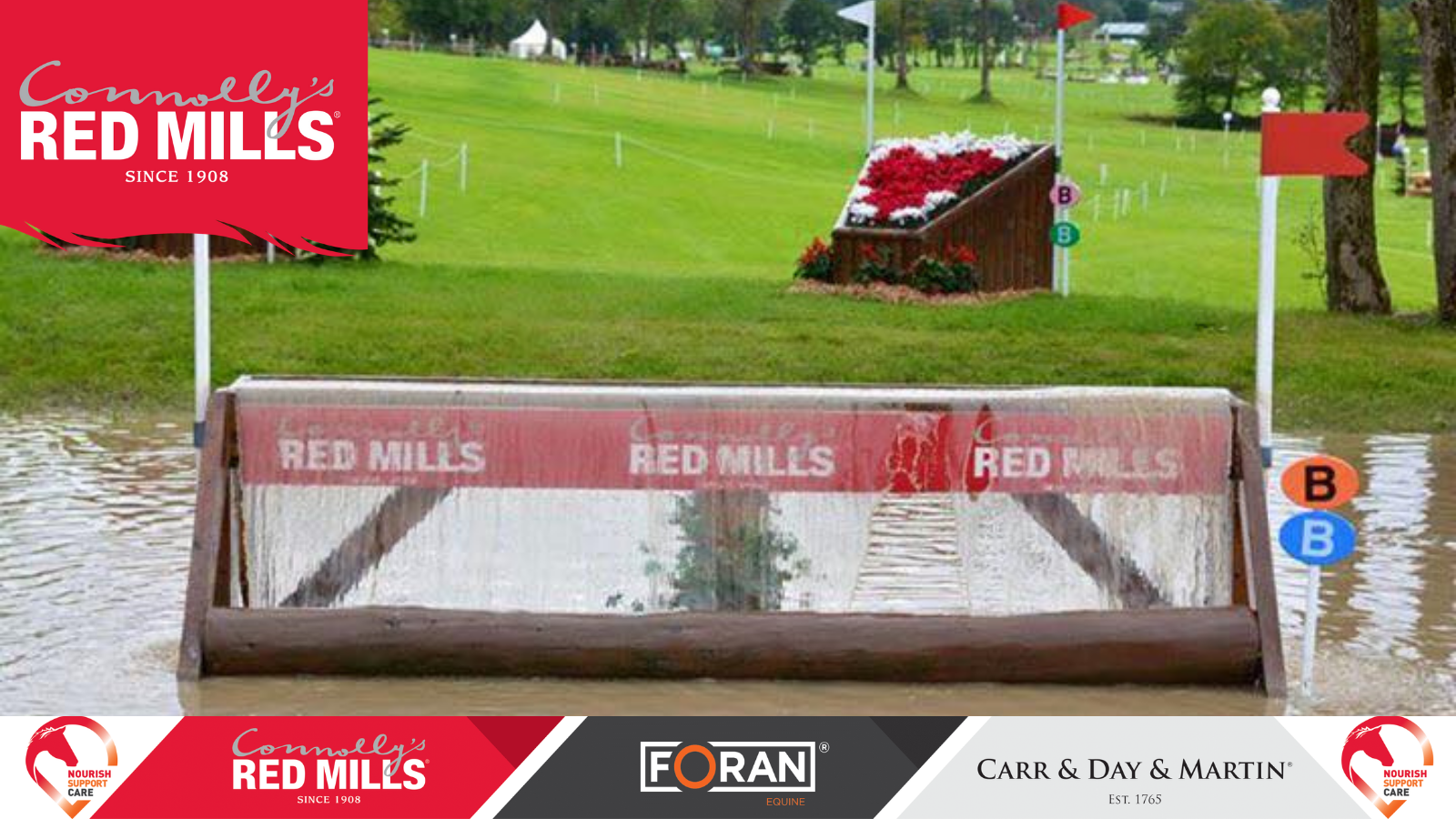 Connolly's RED MILLS, Foran Equine, and Carr & Day & Martin – The Official Nutrition and Care Partners to Millstreet International Horse Trials